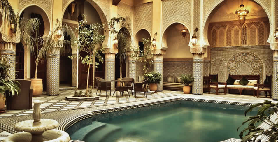 The Moroccan Riad Fes, Marrakesh, Ouarzazate
