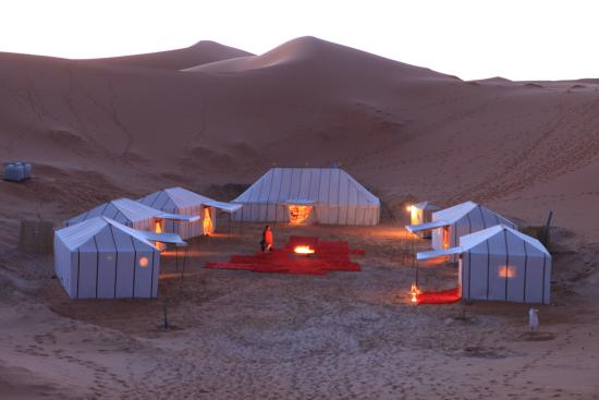 Private Morocco tour - Night in Luxury desert Camp