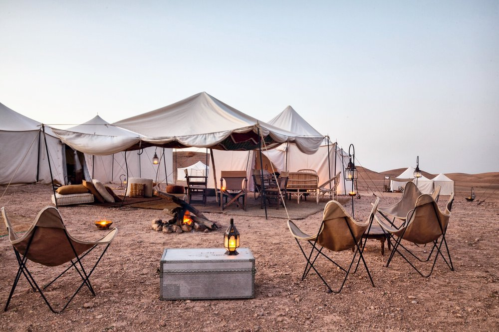 Luxury Marrakech tour night luxury desert camp