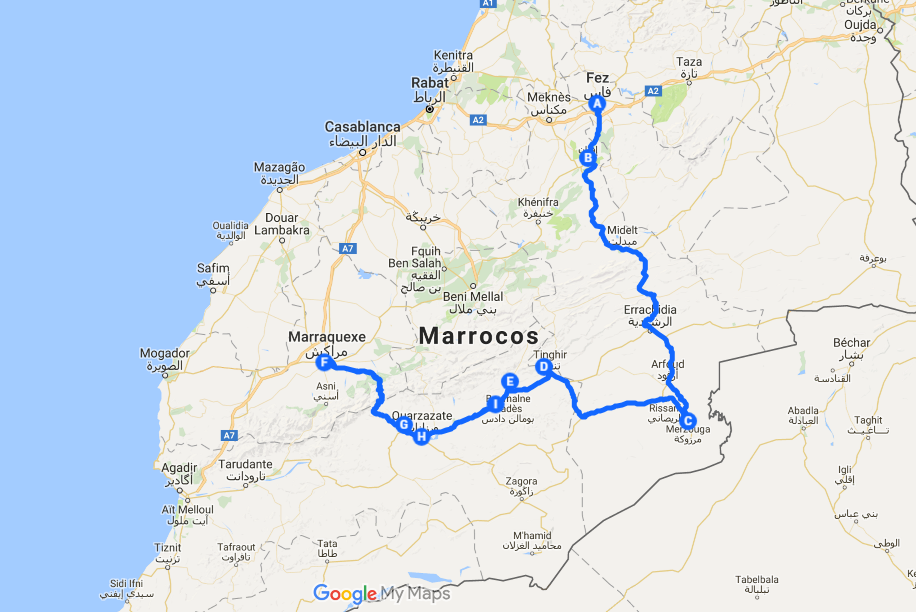 Marrakech to fes desert tour 3 days - Private Morocco tour