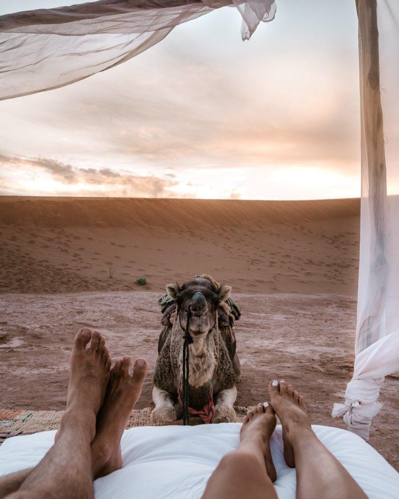Luxury Morocco tour Luxury desert camp